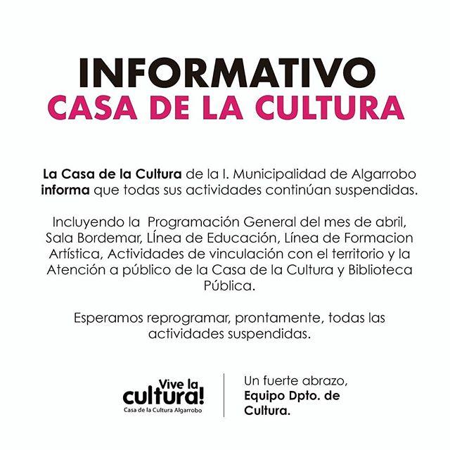 Instagram Cultura Algarrobo